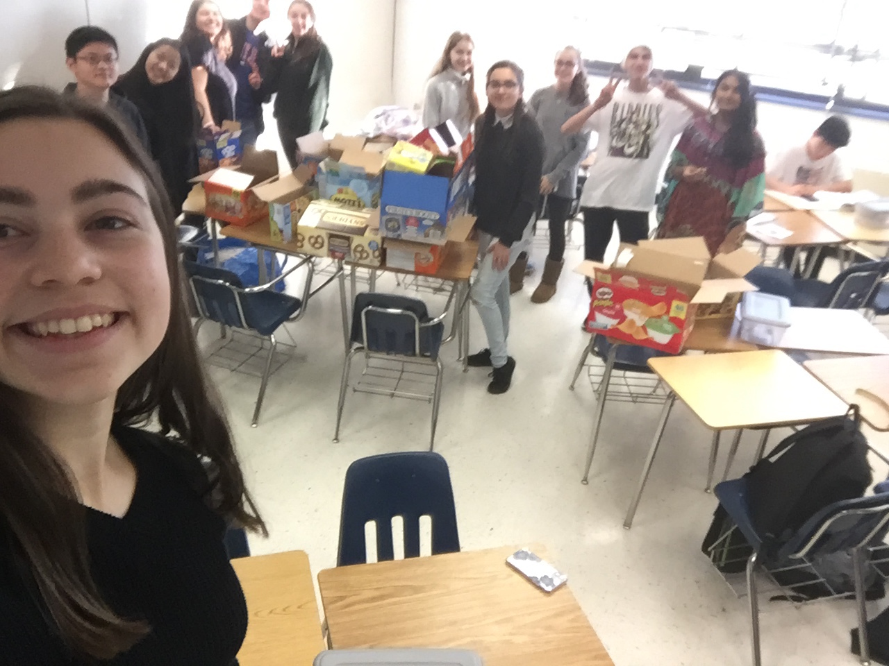 Oakton HS Club Help the Homeless
